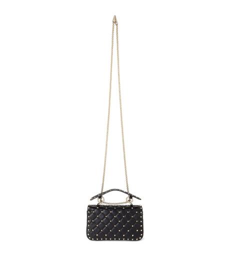 VALENTINO GARAVANI(ヴァレンティノ ガラヴァーニ)のRockstud Matelasse Small-BLACK(ショルダーバッグ/shoulder bag)-LW0B0123NAP-13 詳細画像3