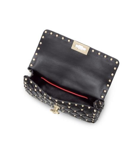 VALENTINO GARAVANI(ヴァレンティノ ガラヴァーニ)のRockstud Matelasse Small-BLACK(ショルダーバッグ/shoulder bag)-LW0B0123NAP-13 詳細画像4