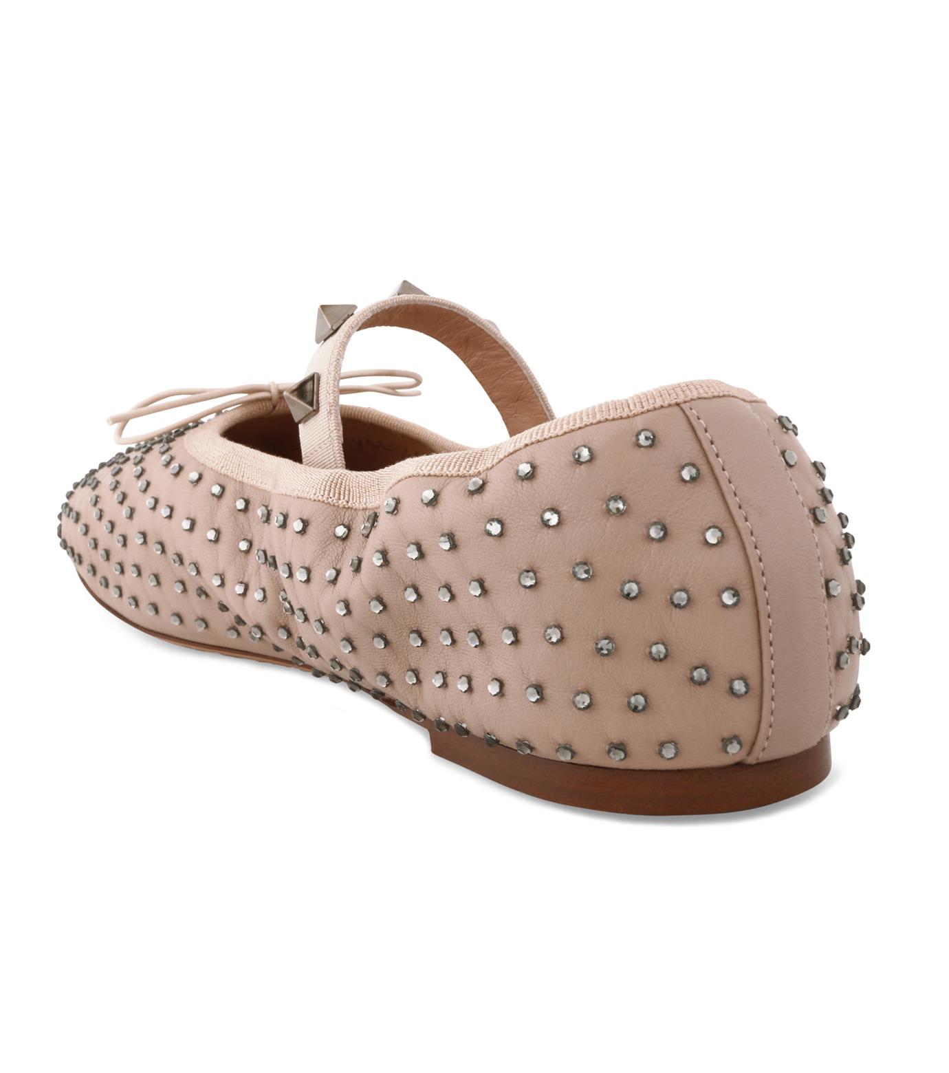 VALENTINO GARAVANI(ヴァレンティノ ガラヴァーニ)のBallerina Flat Strass-BEIGE(フラットシューズ/Flat shoes)-LW0S0A93FNR-52 拡大詳細画像2