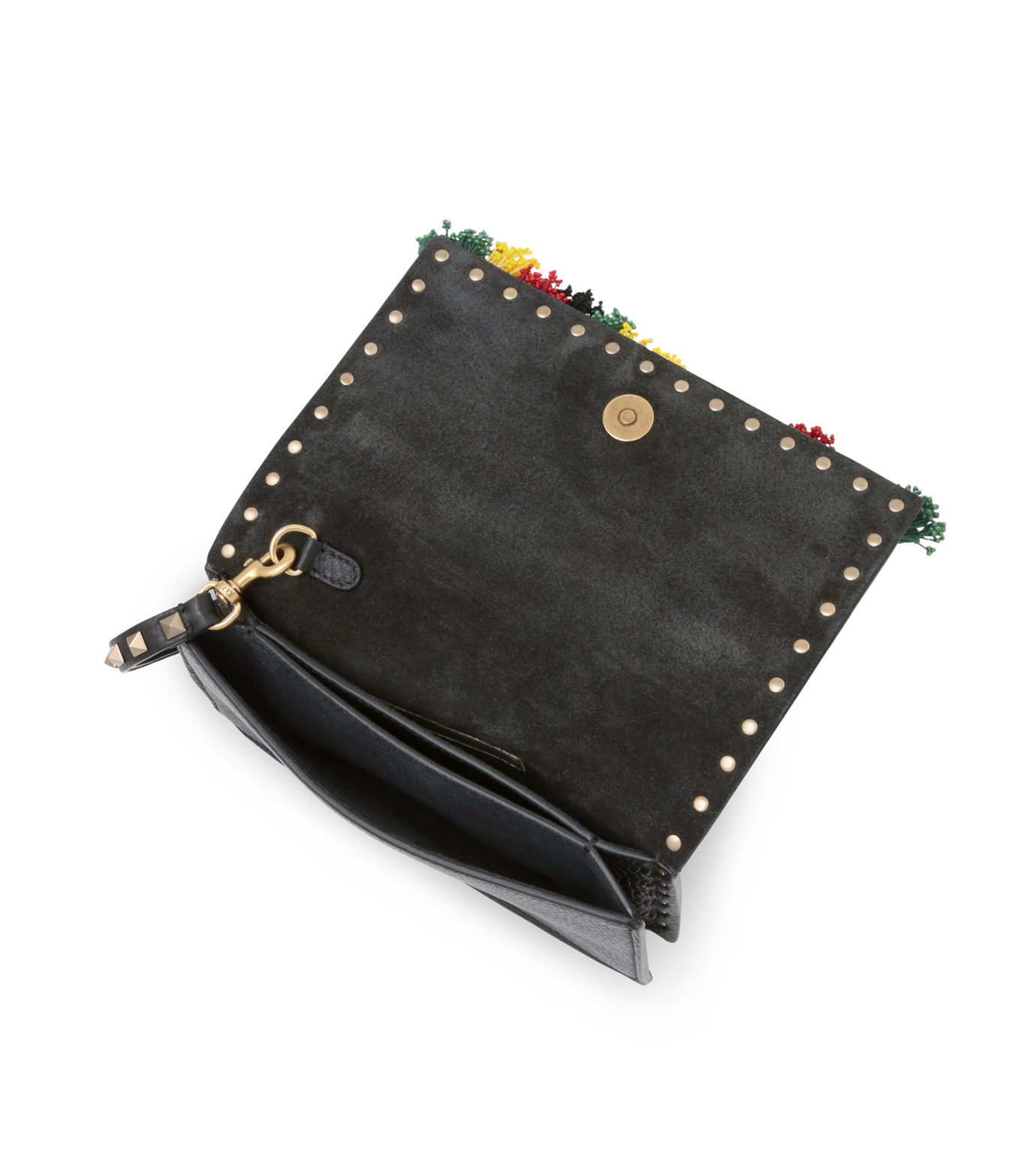 VALENTINO GARAVANI(ヴァレンティノ ガラヴァーニ)のClutch Beaded-BLACK(クラッチバッグ/clutch bag)-LW2B0960WRF-13 拡大詳細画像4