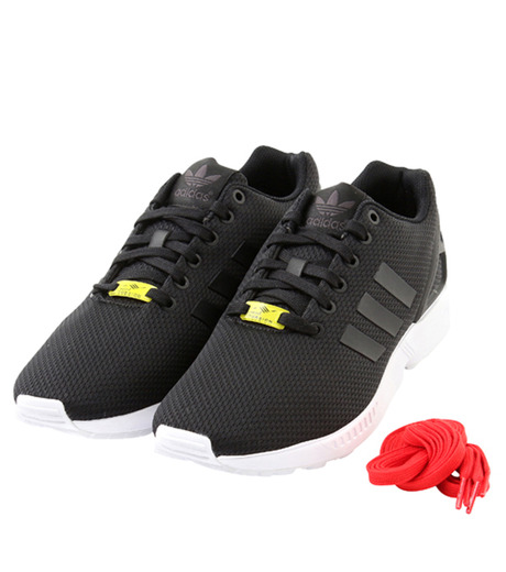 adidas(アディダス)のadidas ZX FLUX-BLACK(シューズ/shoes)-M19840-13 詳細画像4