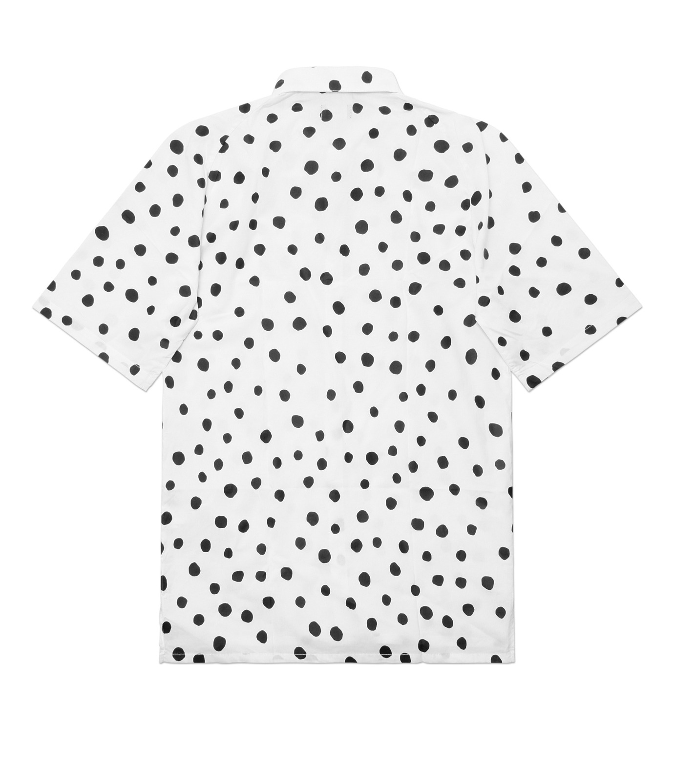 STAMPD(スタンプド)のLarge Polka Button Down-WHITE(T-SHIRTS/T-SHIRTS)-M608BD-WHT-4 拡大詳細画像3
