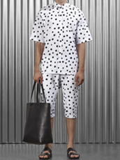 STAMPD Large Polka Button Down