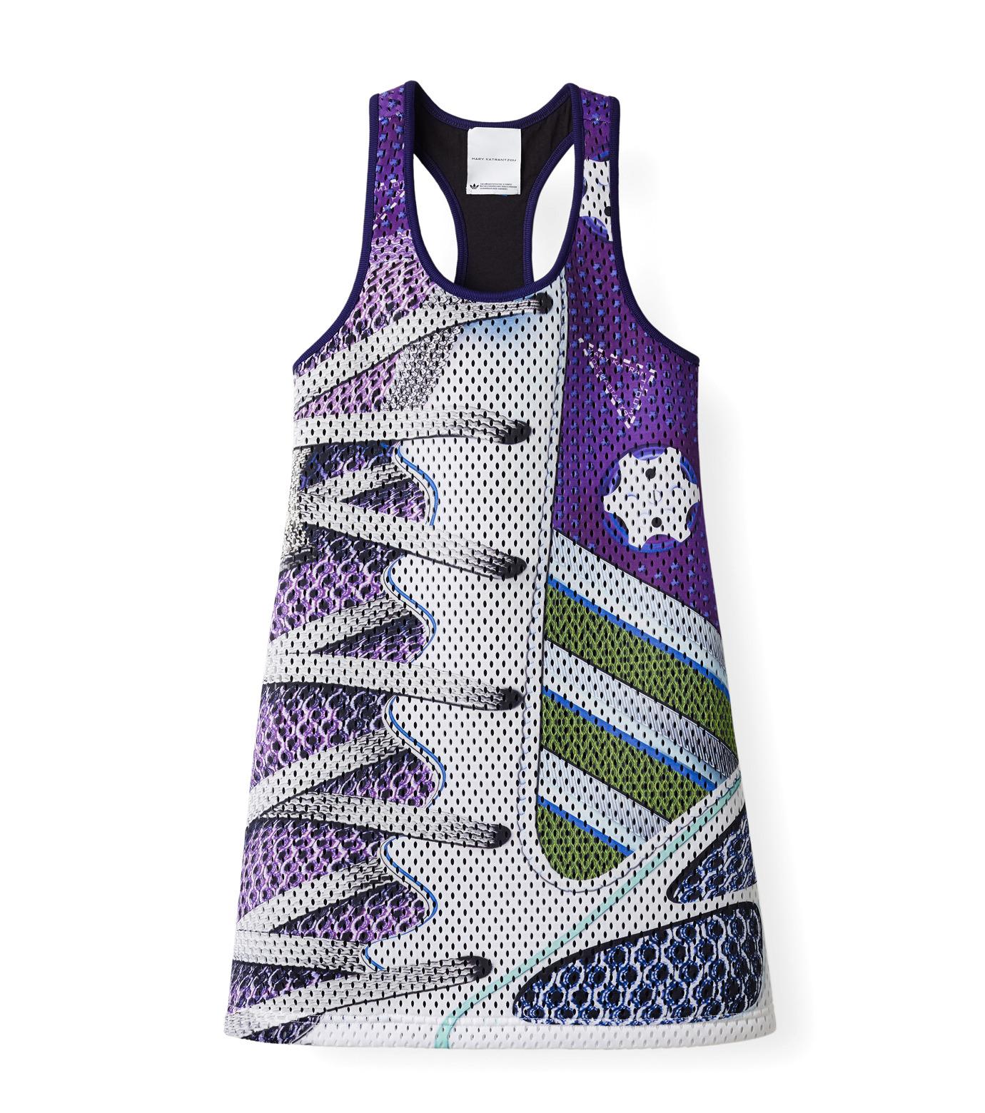 Adidas x Mary Katrantzou(アディダス メアリー・カトランズ)のTank Dress-PURPLE(ドレス/dress)-M62620-82 拡大詳細画像1