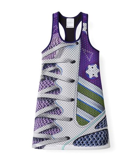 Adidas x Mary Katrantzou(アディダス メアリー・カトランズ)のTank Dress-PURPLE(ドレス/dress)-M62620-82 詳細画像1