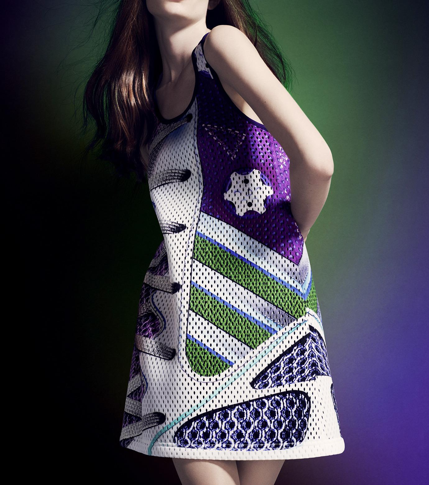 Adidas x Mary Katrantzou(アディダス メアリー・カトランズ)のTank Dress-PURPLE(ドレス/dress)-M62620-82 拡大詳細画像2