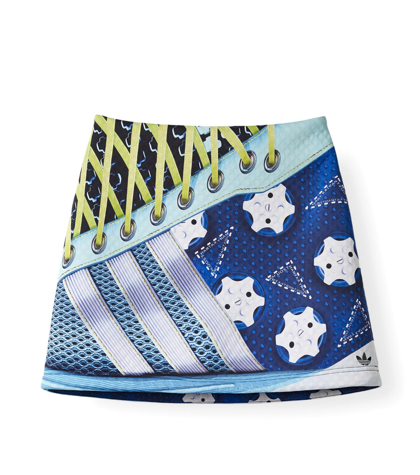 Adidas x Mary Katrantzou(アディダス メアリー・カトランズ)のExc Skirt-TURQUOISE-M63102-95 拡大詳細画像1