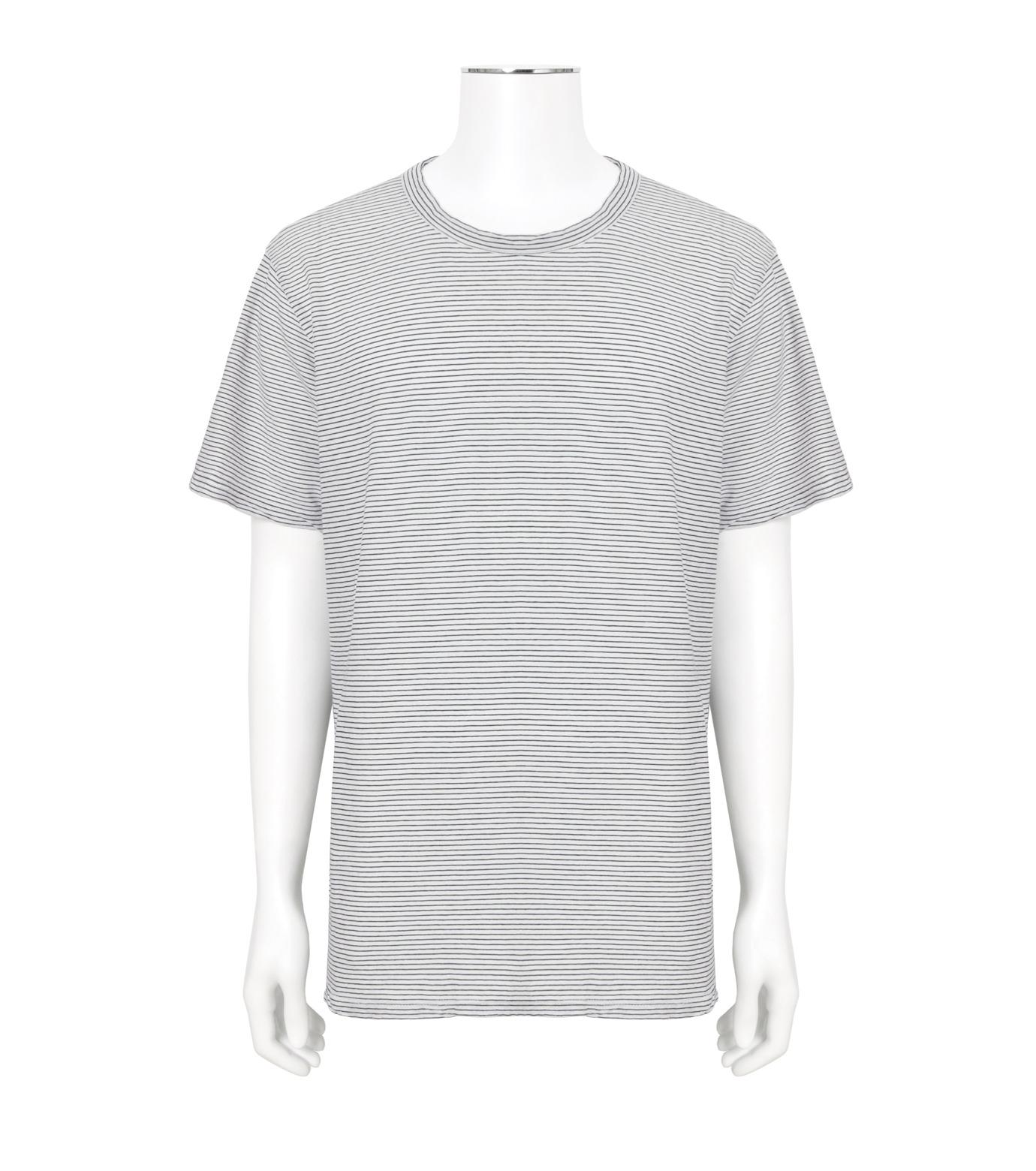 RtA(アールティーエー)のBorderT-WHITE(カットソー/cut and sewn)-M8810-4STSLK-4 拡大詳細画像1