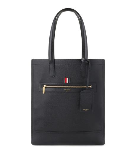 Thom Browne(トムブラウン)のLeather Tote-BLACK(ハンドバッグ/hand bag)-MAG059A00198-13 詳細画像1
