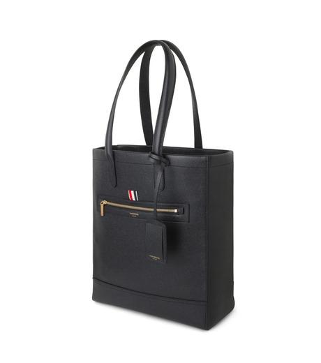 Thom Browne(トムブラウン)のLeather Tote-BLACK(ハンドバッグ/hand bag)-MAG059A00198-13 詳細画像2