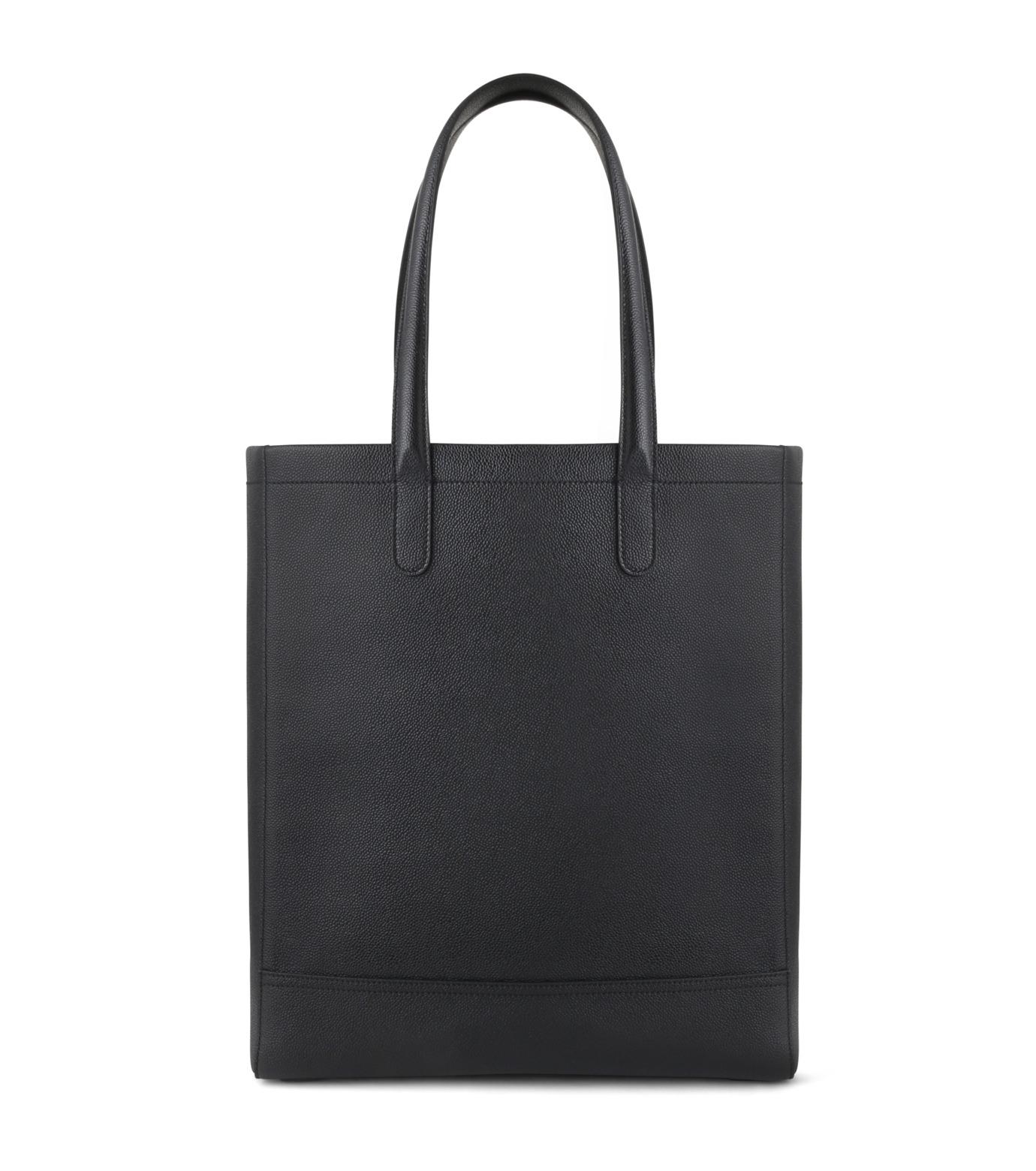 Thom Browne(トムブラウン)のLeather Tote-BLACK(ハンドバッグ/hand bag)-MAG059A00198-13 拡大詳細画像3