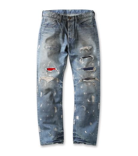 Heddie Lovu(エディー ルーヴ)のMAHOGANY LGT-SP1-LIGHT BLUE(パンツ/pants)-MAH-LGT-SP1-91 詳細画像1