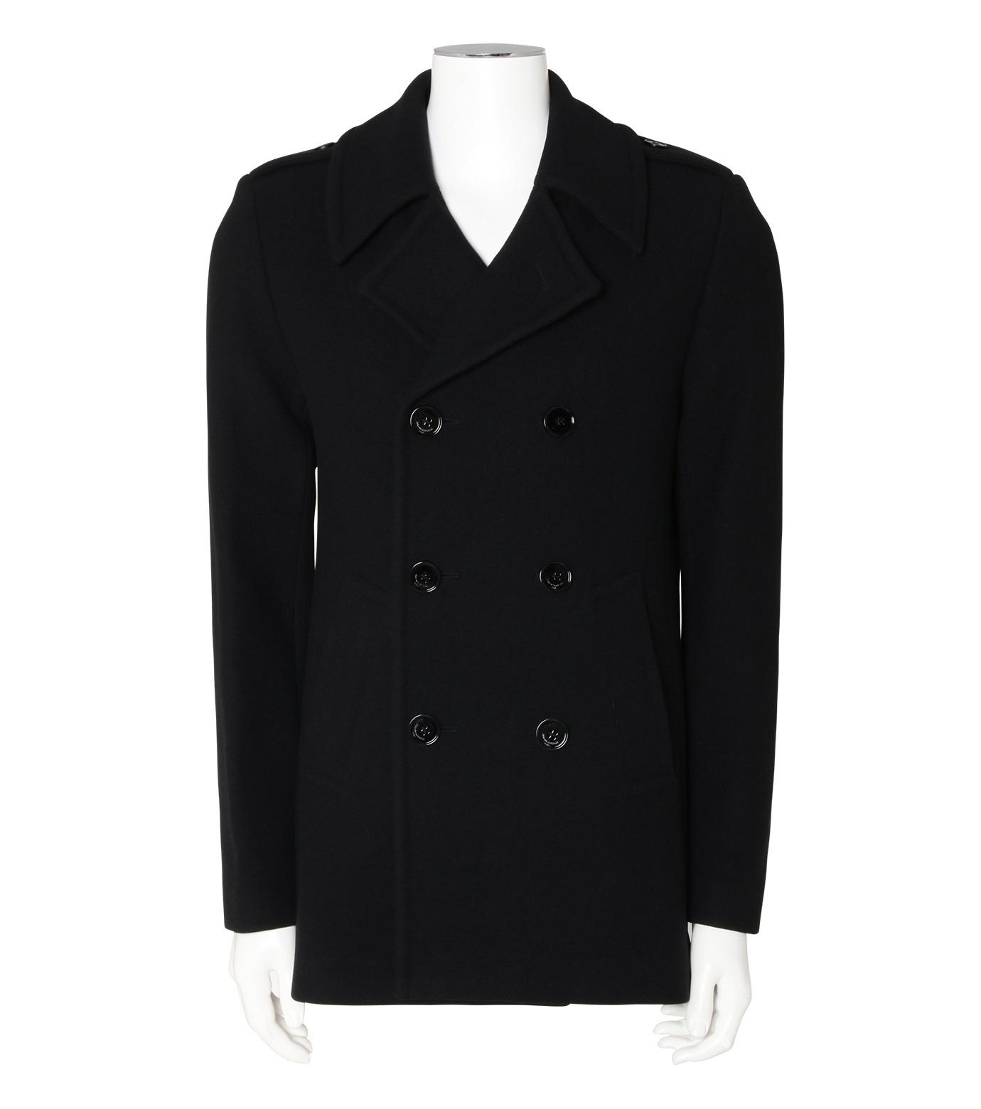 GARCONS INFIDELES(ギャルソン・インフィデレス)のClassic P Coat-BLACK(コート/coat)-MARLON-13 拡大詳細画像1