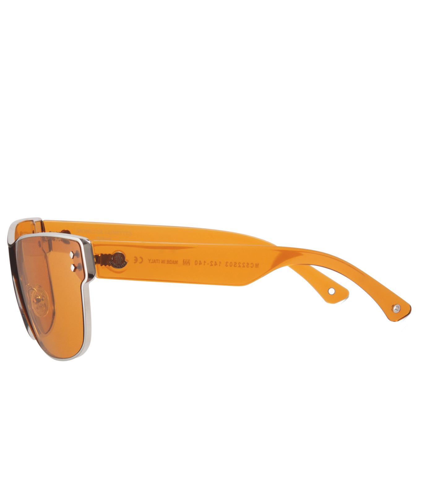 Moncler Eyewear(モンクレールアイウェア)のEYEWEAR-YELLOW(アイウェア/eyewear)-MC522-32 拡大詳細画像2