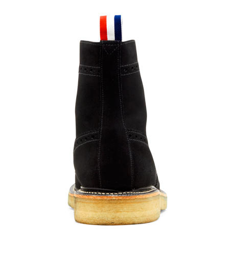 Thom Browne(トムブラウン)のSuede Boots-BLACK-MFR021-P7210 詳細画像3
