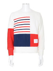 Thom Browne Rubber Print Knit