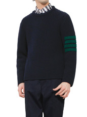 Thom Browne line knit