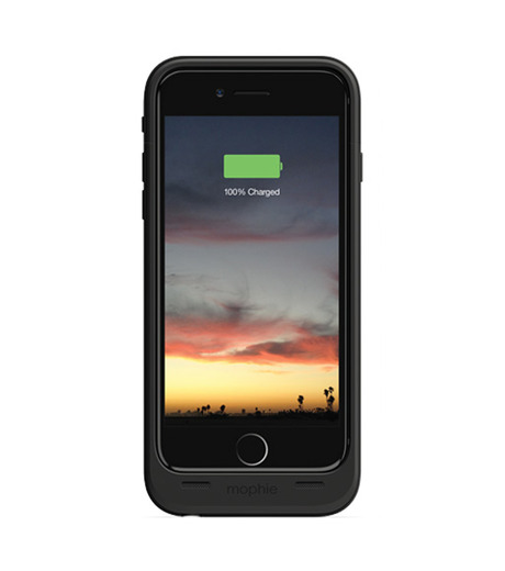 Mophie(モーフィー)のmophie juice pack air for iPhone 6-BLACK(ケースiphone6/6s/case iphone6/6s)-MOP-PH-0068-13 詳細画像3