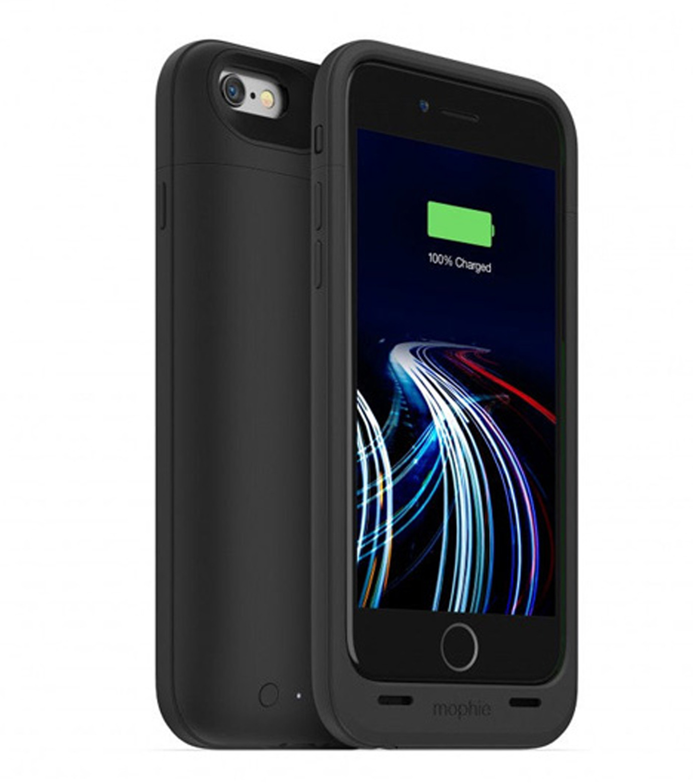 Mophie(モーフィー)のmophie juice pack ultra for iPhone 6-BLACK(ケースiphone6/6s/case iphone6/6s)-MOP-PH-0080-13 拡大詳細画像1