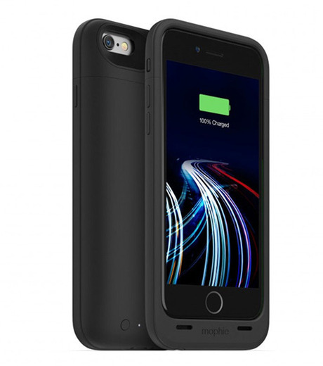 Mophie(モーフィー)のmophie juice pack ultra for iPhone 6-BLACK(ケースiphone6/6s/case iphone6/6s)-MOP-PH-0080-13 詳細画像1