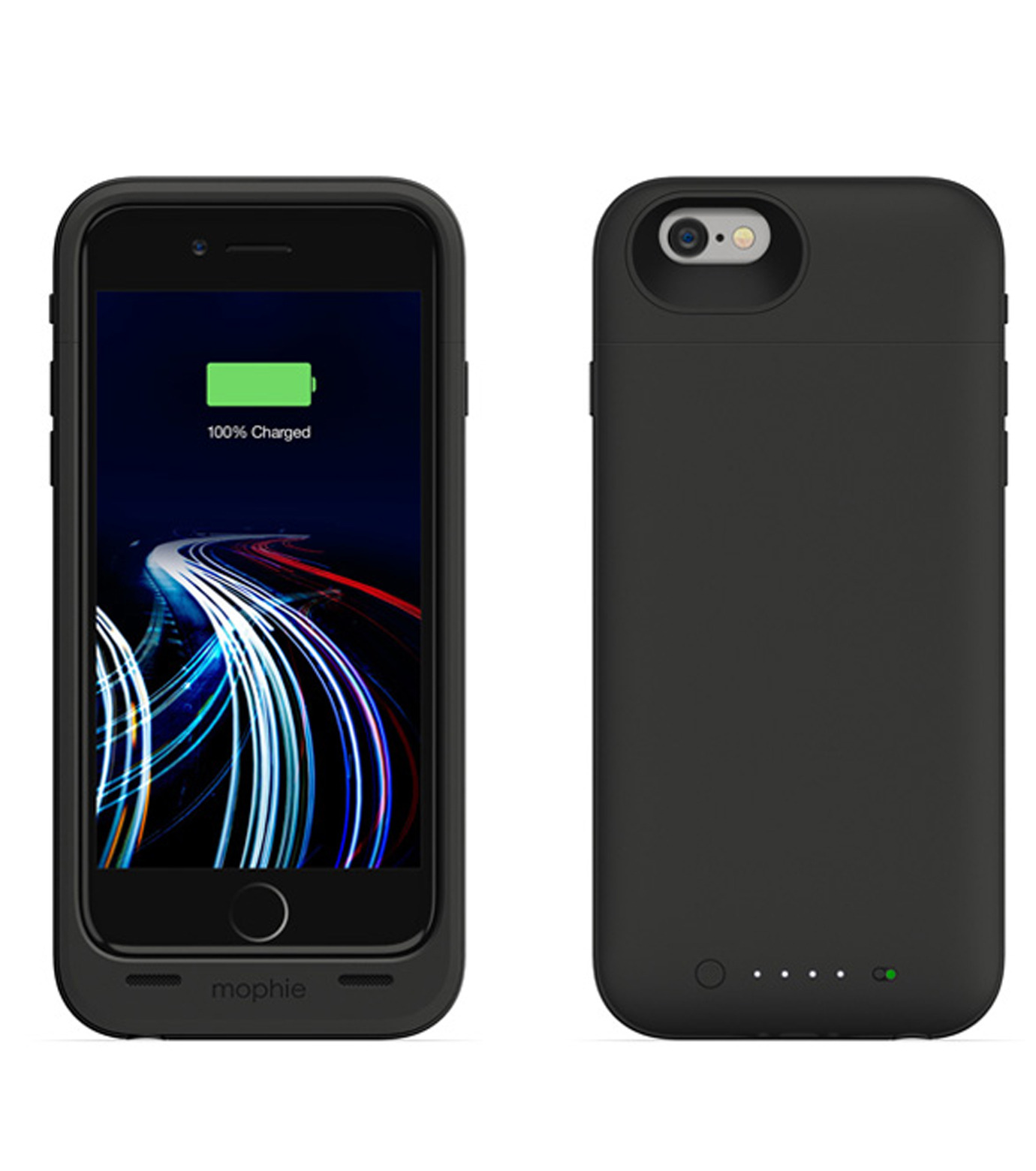 Mophie(モーフィー)のmophie juice pack ultra for iPhone 6-BLACK(ケースiphone6/6s/case iphone6/6s)-MOP-PH-0080-13 拡大詳細画像2