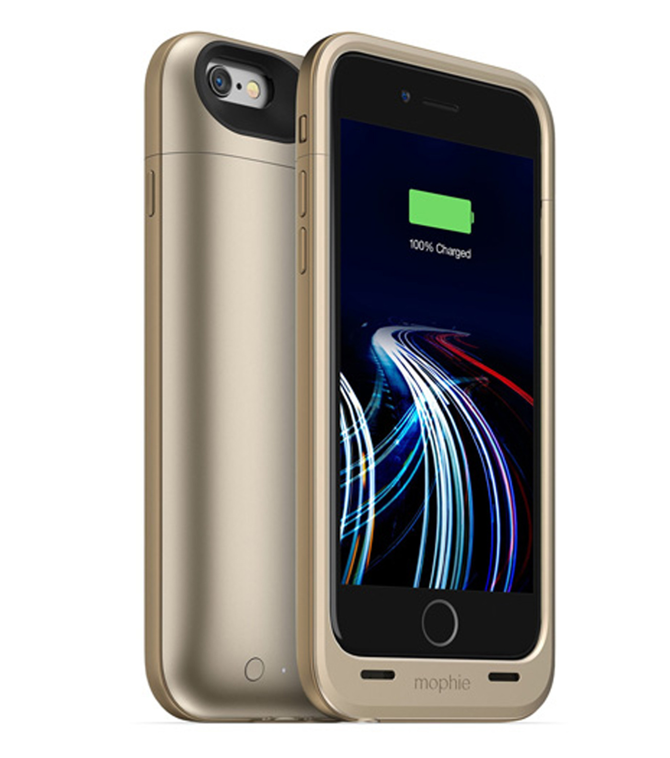 Mophie(モーフィー)のmophie juice pack ultra for iPhone 6-GOLD(ケースiphone6/6s/case iphone6/6s)-MOP-PH-0082-2 拡大詳細画像1