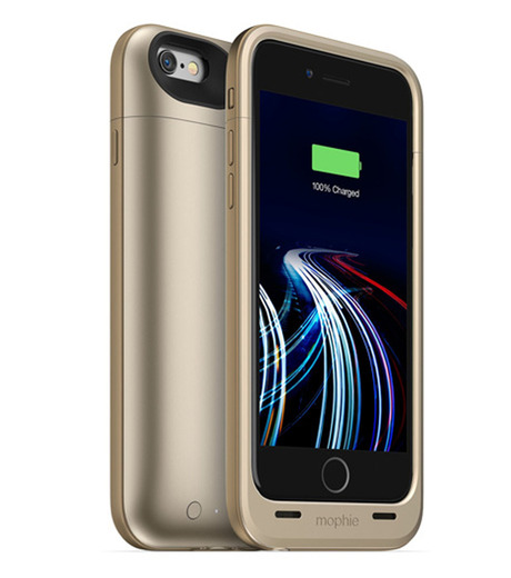 Mophie(モーフィー)のmophie juice pack ultra for iPhone 6-GOLD(ケースiphone6/6s/case iphone6/6s)-MOP-PH-0082-2 詳細画像1