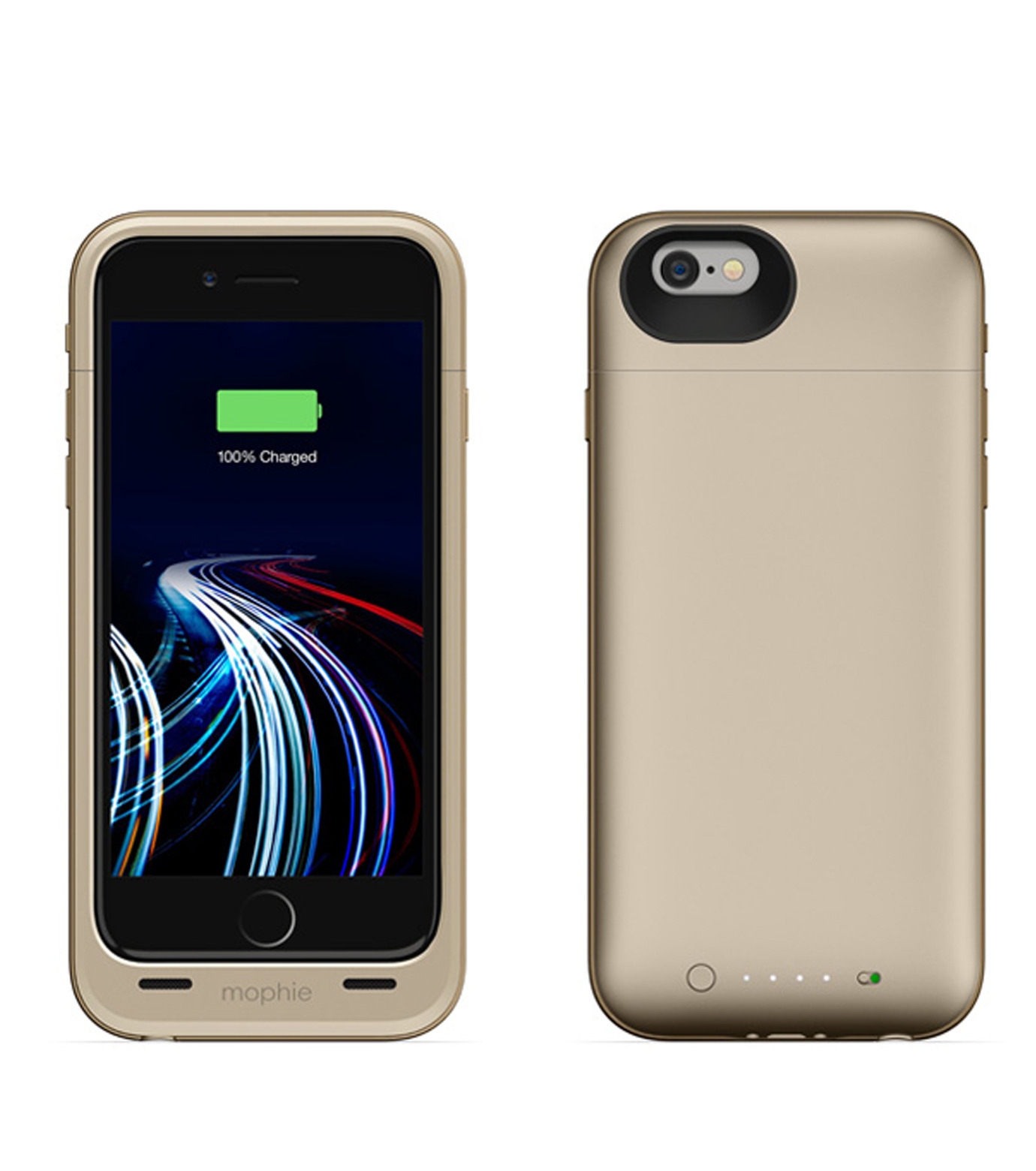 Mophie(モーフィー)のmophie juice pack ultra for iPhone 6-GOLD(ケースiphone6/6s/case iphone6/6s)-MOP-PH-0082-2 拡大詳細画像2