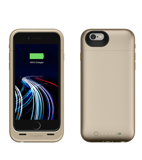 Mophie(モーフィー)のmophie juice pack ultra for iPhone 6-GOLD(ケースiphone6/6s/case iphone6/6s)-MOP-PH-0082-2 詳細画像2