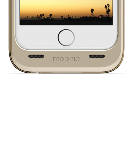 Mophie(モーフィー)のmophie juice pack air for iPhone 6-NAVY(ケースiphone6/6s/case iphone6/6s)-MOP-PH-0093-93 詳細画像2