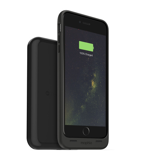 Mophie(モーフィー)のmophie juice pack wireless for iPhone6-BLACK(ケースiphone6/6s/case iphone6/6s)-MOP-PH-0143-13 詳細画像2