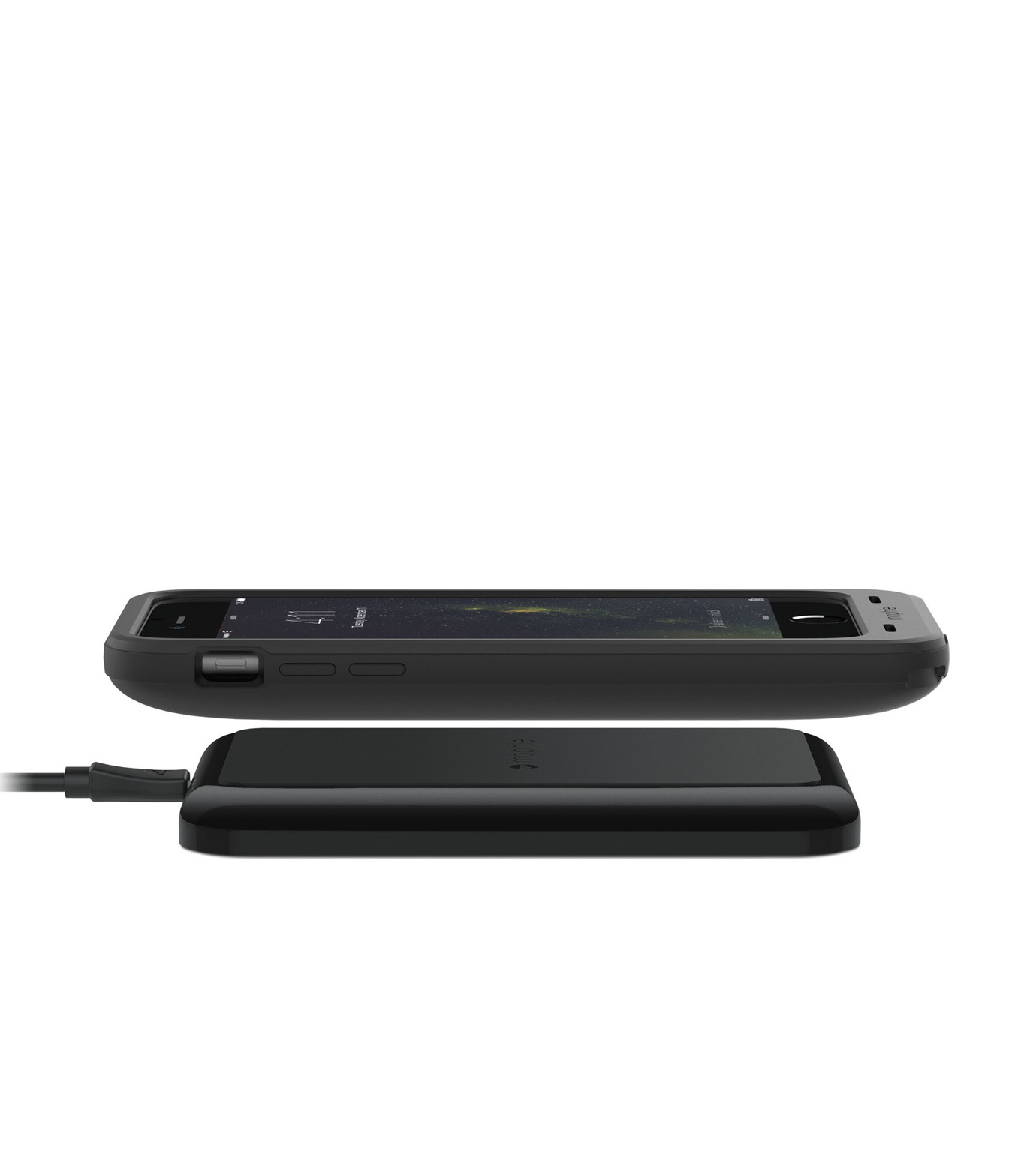 Mophie(モーフィー)のmophie juice pack wireless for iPhone6-BLACK(ケースiphone6/6s/case iphone6/6s)-MOP-PH-0143-13 拡大詳細画像5