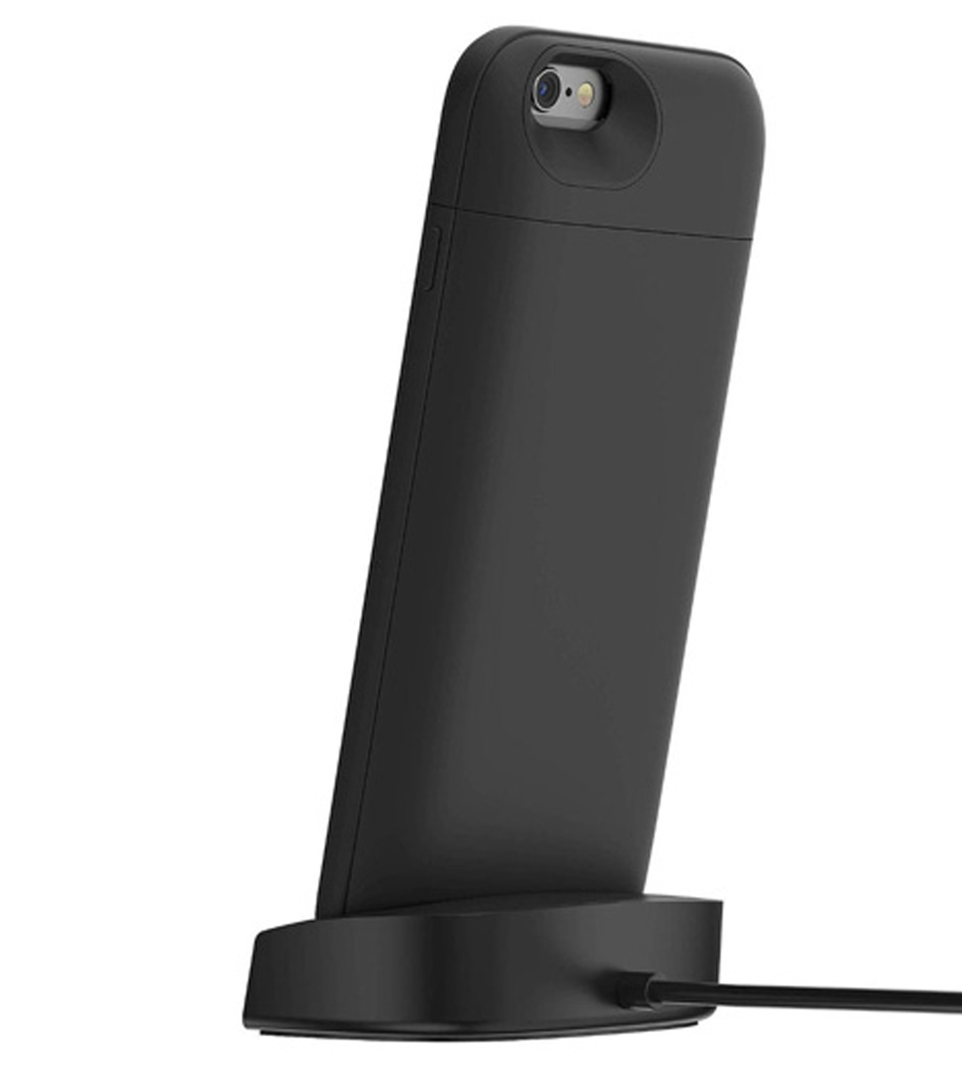 Mophie(モーフィー)のmophie juice pack dock iPhone 6-BLACK(ケースiphone6/6s/case iphone6/6s)-MOP-PH-106-13 拡大詳細画像2