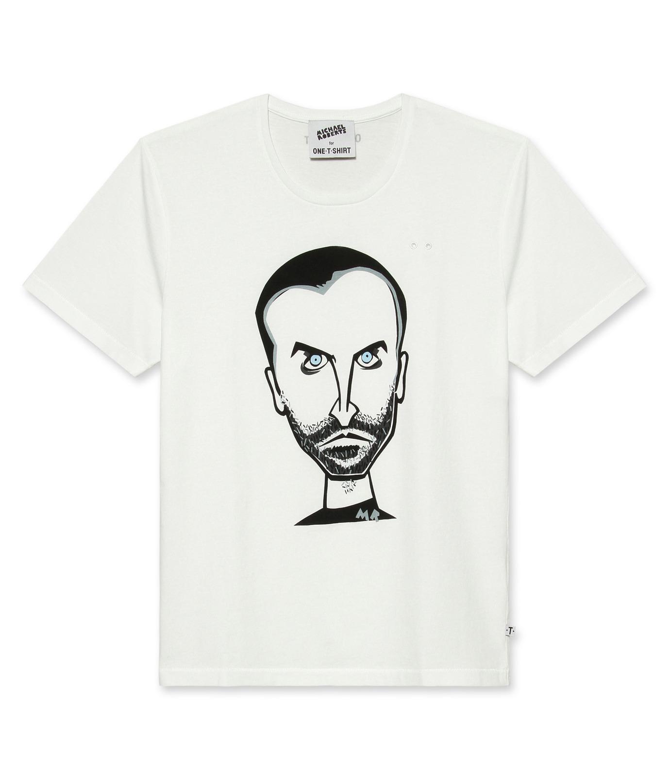 ONE T SHIRT(ワンティーシャツ)のNicolas-WHITE(T-SHIRTS/T-SHIRTS)-MR-NICOLAS-4 拡大詳細画像1