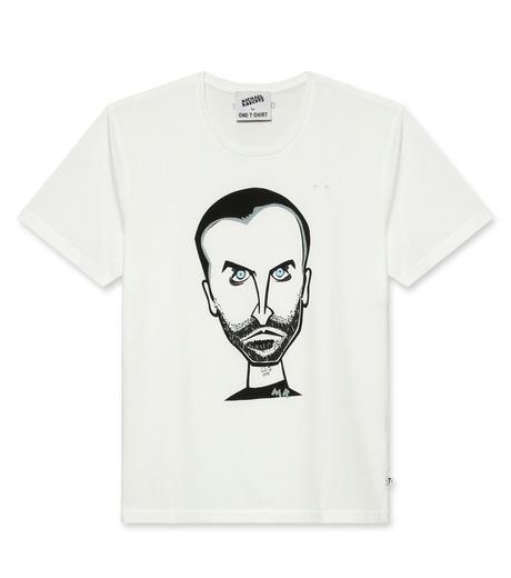 ONE T SHIRT(ワンティーシャツ)のNicolas-WHITE(T-SHIRTS/T-SHIRTS)-MR-NICOLAS-4 詳細画像1