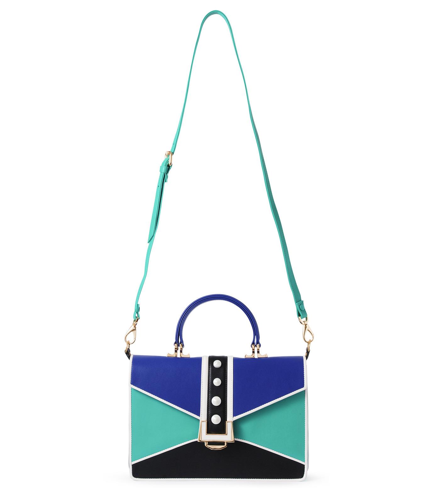MAYRAFEDANE()のnicole-GREEN(ハンドバッグ/hand bag)-MRF015-22 拡大詳細画像1