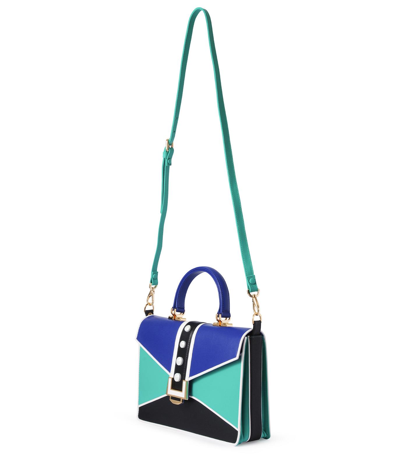 MAYRAFEDANE()のnicole-GREEN(ハンドバッグ/hand bag)-MRF015-22 拡大詳細画像3