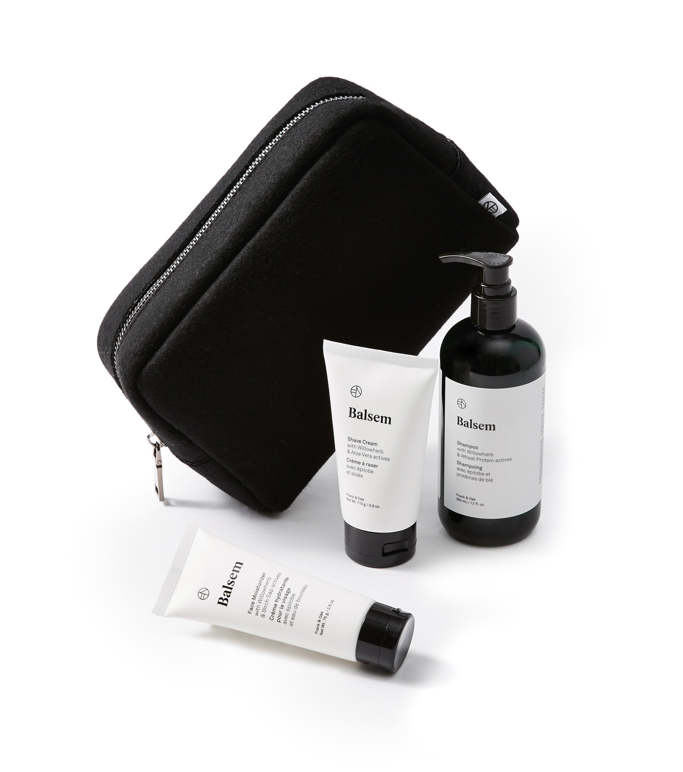 BALSEM()のGROOMING ESSENTIAL DOPP KIT-WHITE(BATH-BODY-GROOMING/BATH-BODY-GROOMING)-MS-31025B-4 拡大詳細画像1