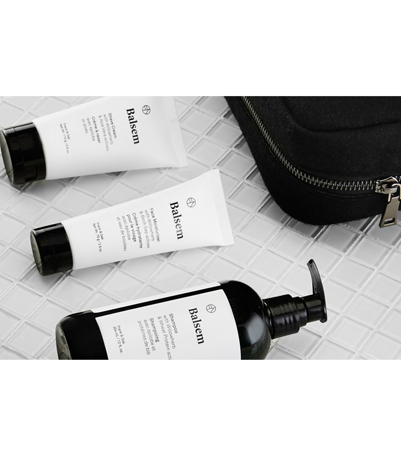 BALSEM()のGROOMING ESSENTIAL DOPP KIT-WHITE(BATH-BODY-GROOMING/BATH-BODY-GROOMING)-MS-31025B-4 拡大詳細画像2