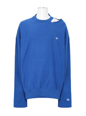 VETEMENTS CUT OUT NECKLINE SWEATSHIRT