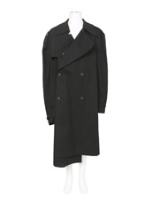 VETEMENTS(ヴェトモン) ASYMMETRIC OVERSIZED TRENCHCOAT