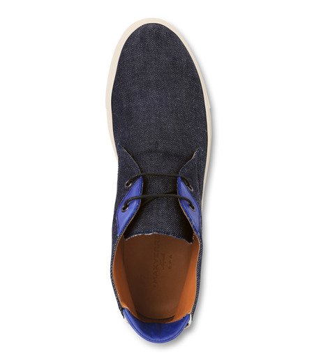 Max Verre(マックス ヴェッレ)のDenim chucker Boots-INDIGO(シューズ/shoes)-MV1003-94 詳細画像4