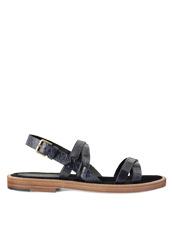 Max Verre Cross Strap Sandal