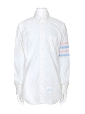 Thom Browne Stripe Oxford Shirt