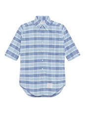 Thom Browne Over Check Short Sleeve