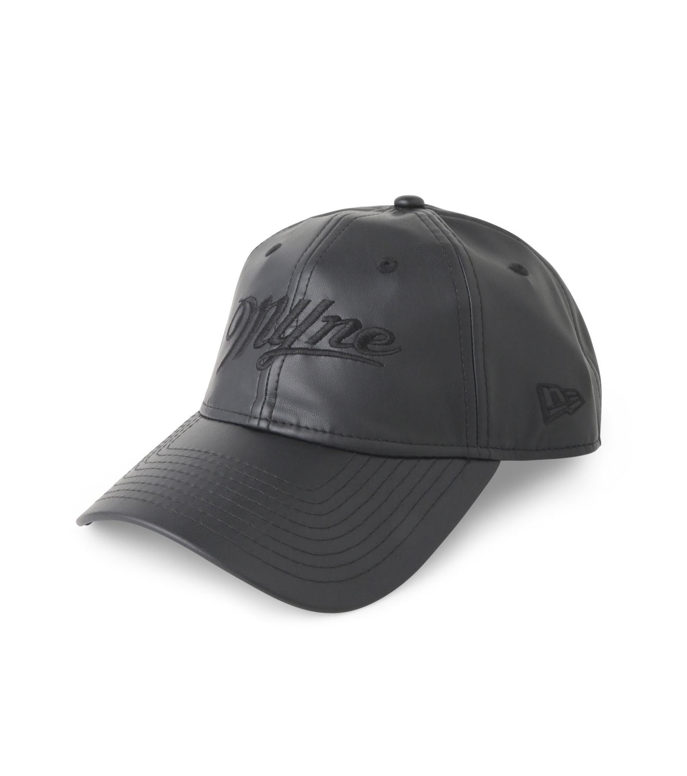 MYne(マイン)の920 Fake Leather Cap-BLACK(キャップ/cap)-MYA8-0004-13 拡大詳細画像1