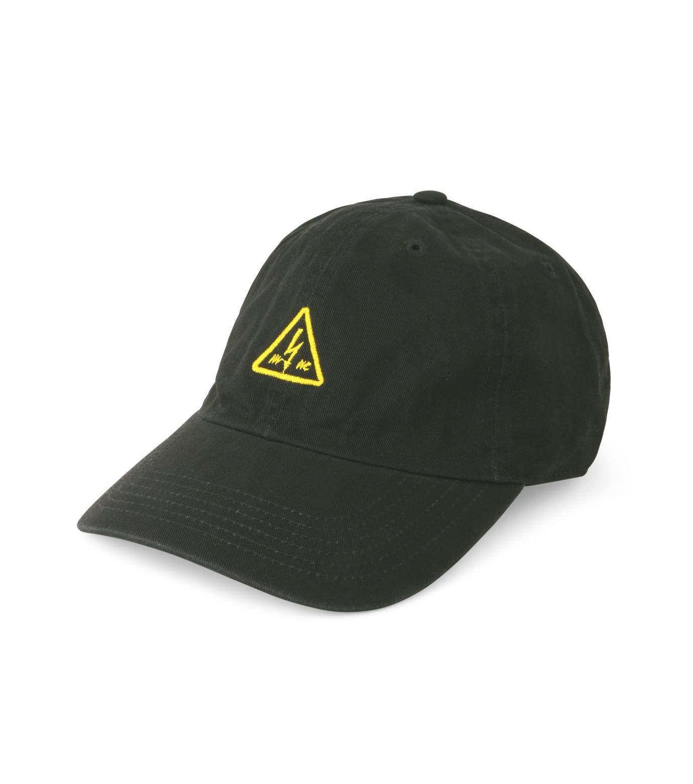 MYne(マイン)のTriangle Cap-BLACK(キャップ/cap)-MYA8-0006-13 拡大詳細画像1