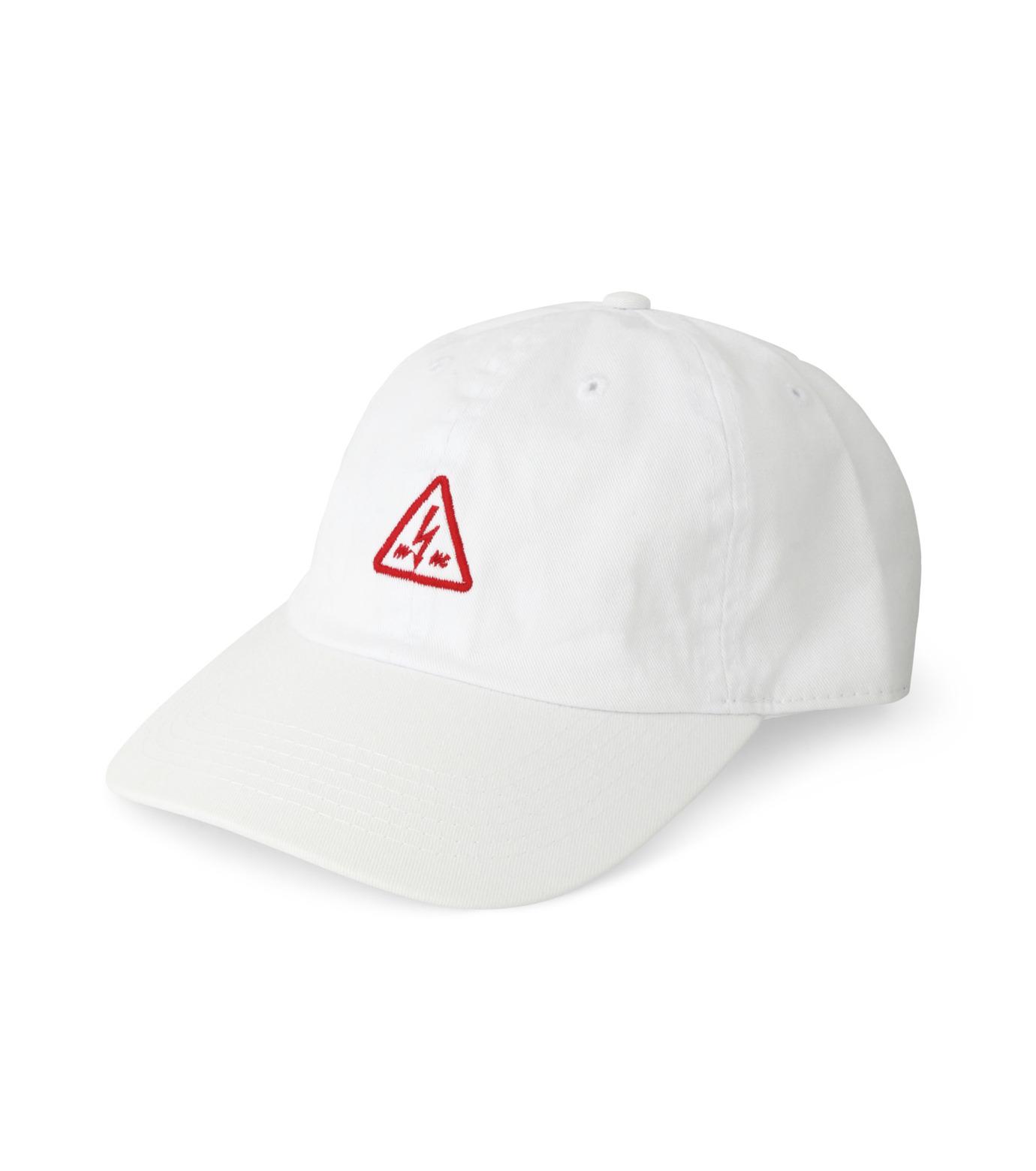 MYne(マイン)のTriangle Cap-WHITE(キャップ/cap)-MYA8-0006-4 拡大詳細画像1