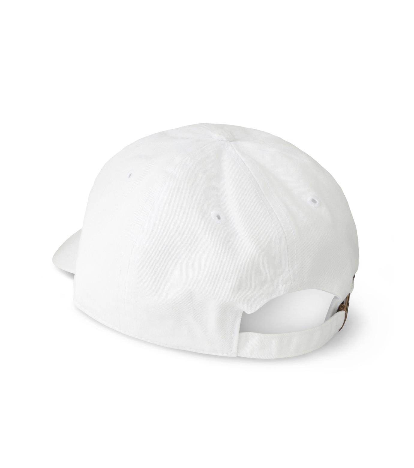 MYne(マイン)のTriangle Cap-WHITE(キャップ/cap)-MYA8-0006-4 拡大詳細画像2