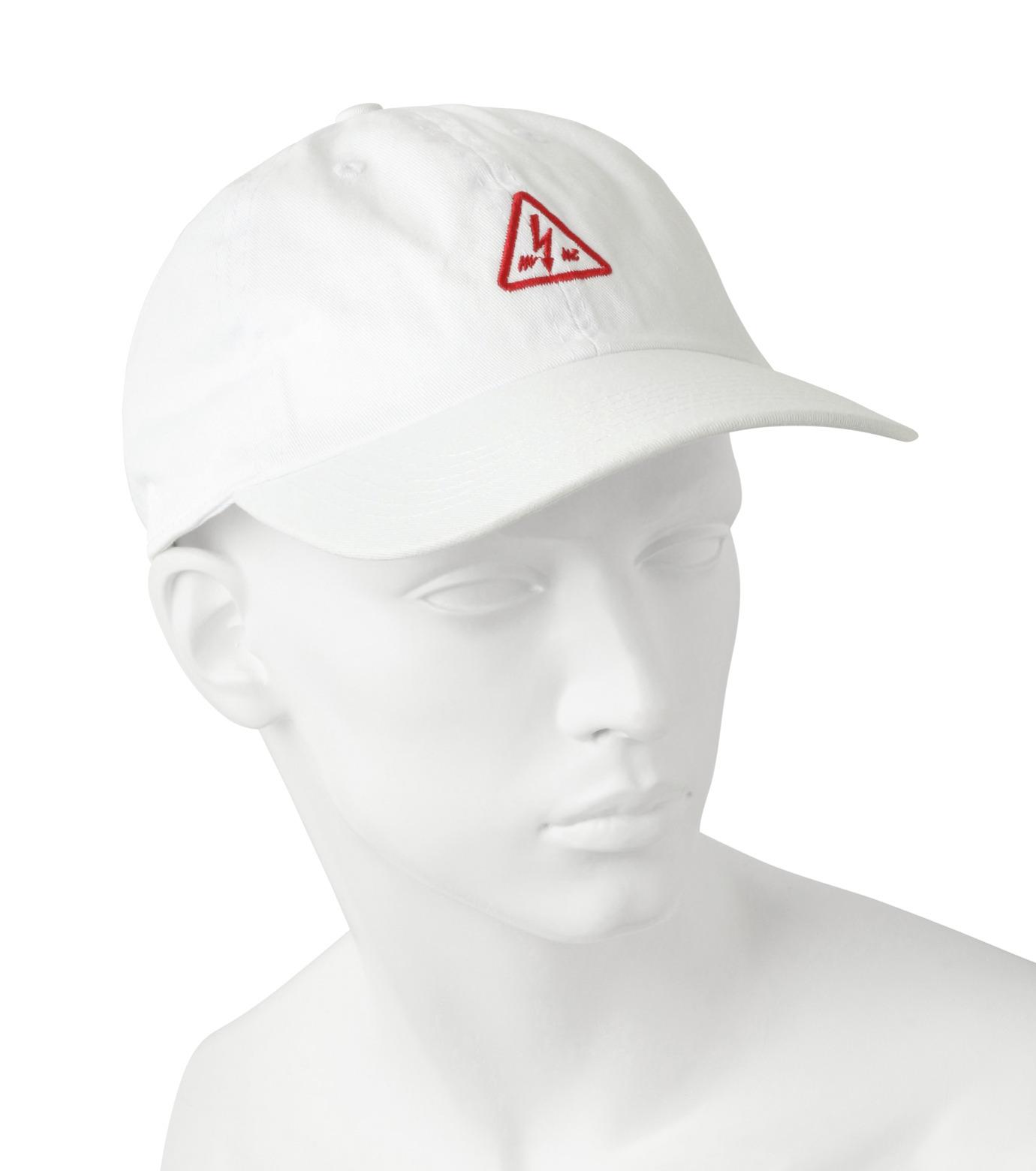 MYne(マイン)のTriangle Cap-WHITE(キャップ/cap)-MYA8-0006-4 拡大詳細画像3